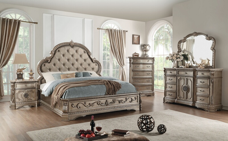 980 Tufted Queen Bedroom Sets New HD
