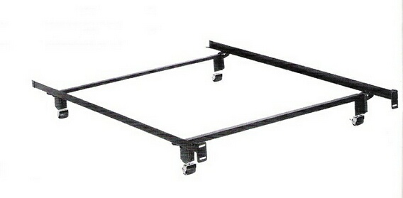 4034BR Twin size Elite holly-matic bed frame with rug rollers with headboard attachment