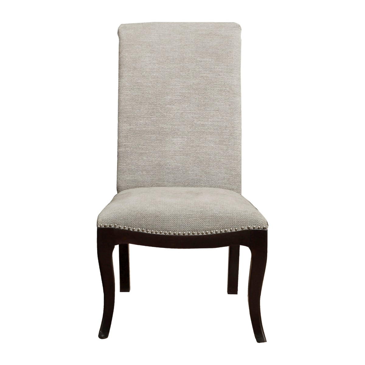 Homelegance 5494-S Darby home co Savion espresso finish wood dining chair with fabric upholstery