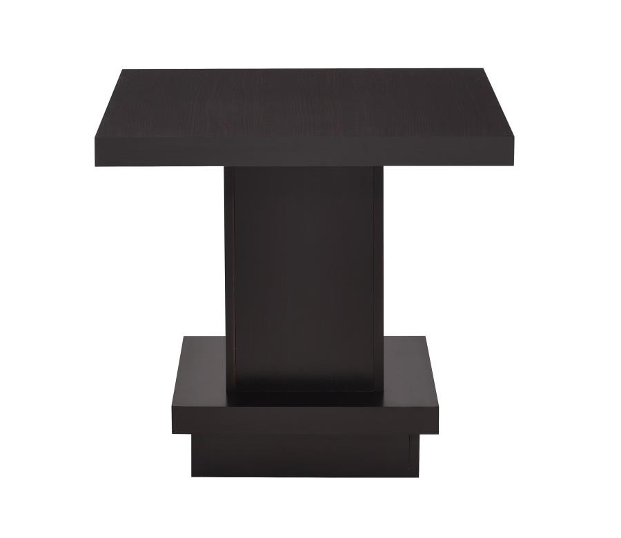 CST705167 Wildon collection espresso wood finish modern end table