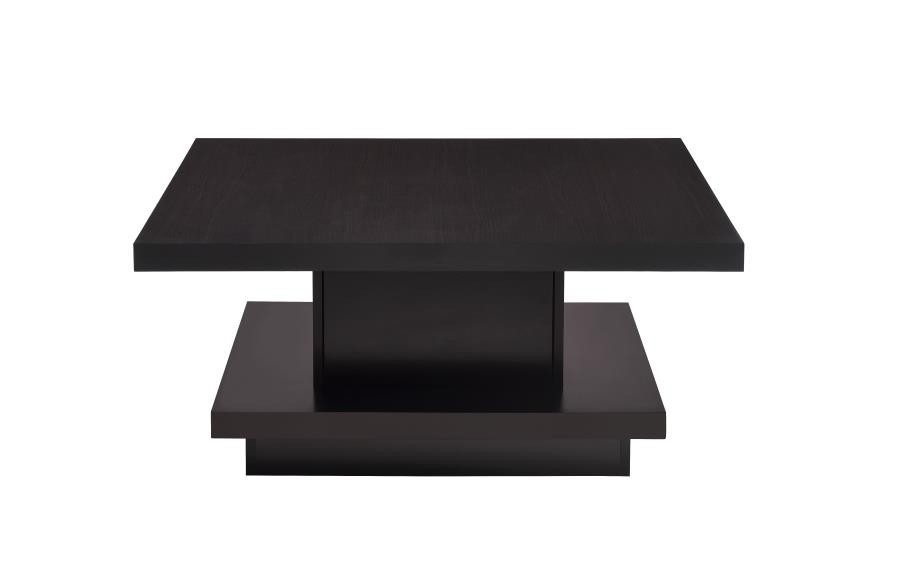 CST705168 Wildon collection espresso wood finish modern coffee table