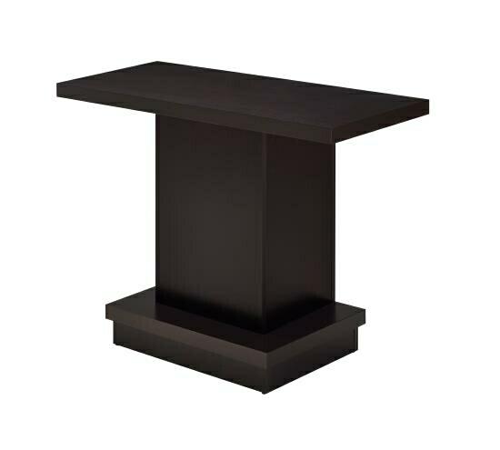 705169 Wildon home zipcode designs kassidy espresso wood finish modern sofa table