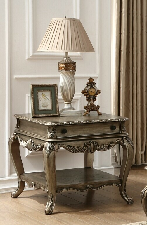 Acme 86032 Astoria grand welling ragenardus vintage oak finish wood chair side end table