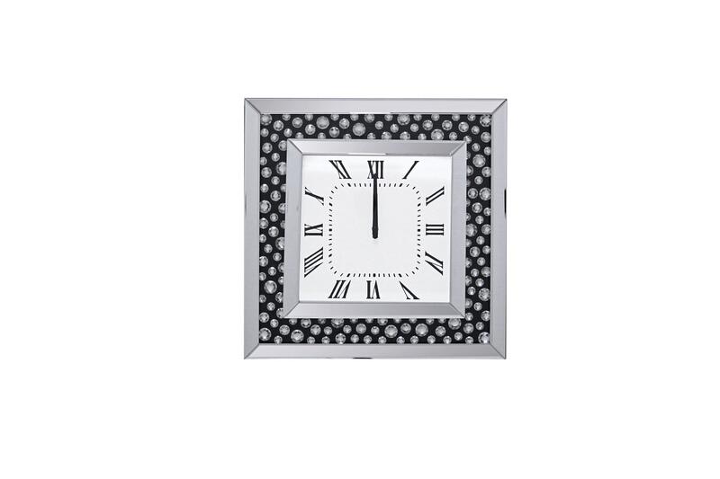 Acme 97402 Nasa mirrored circles and square wall clock