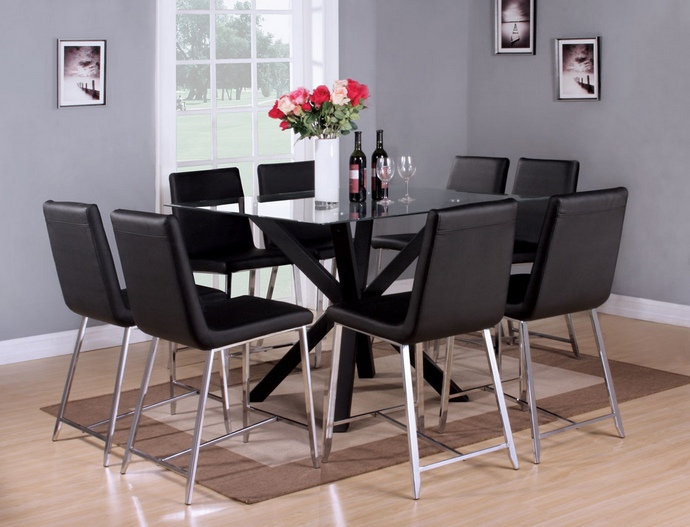 Glass Square Dining Table For 8 Glass Square Dining Table Seater