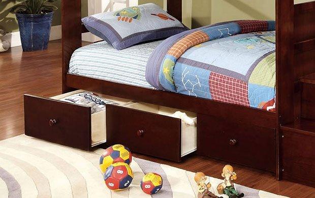 CM-DR452-EXP Set of 3 primo slide under bed trundle drawers