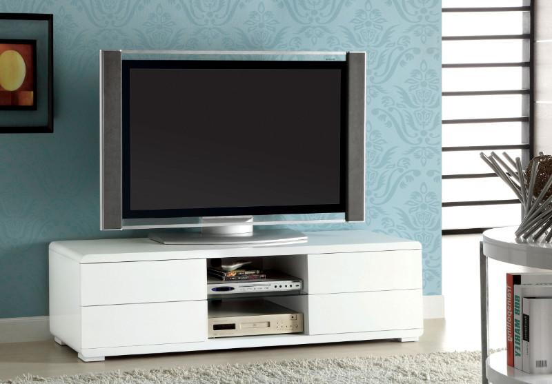 Furniture of america CM5530WH-TV Cerro modern style white high gloss tv stand