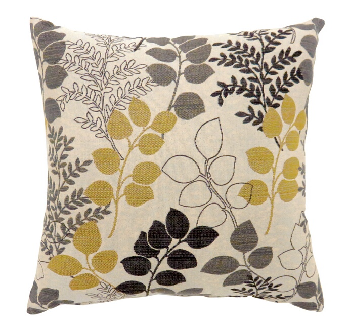 """PL687 Set of 2 jill collection multi colored fabric 22"""" x 22"""" throw pillows"""