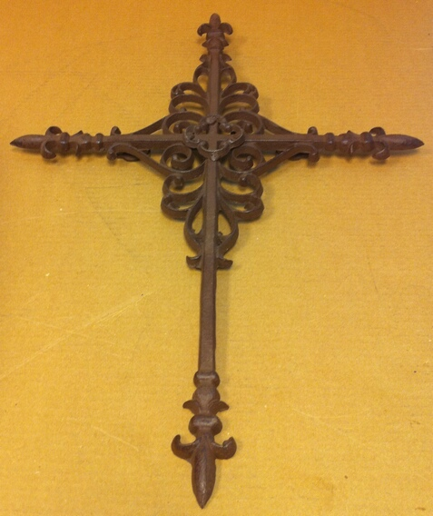 cd-1026 Cast iron cross wall hanger ch - 1026