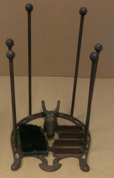 cg-1112 Cast iron horse head foot brush