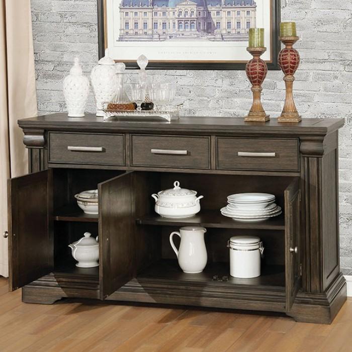 CM3310SV Gracie oaks johannes faulk espresso finish wood server / sideboard cabinet