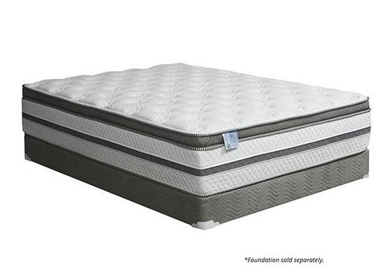 "DM-339 Siddalee 16"" euro pillow top queen size mattress 2.5"" Gel Infused Memory Foam"
