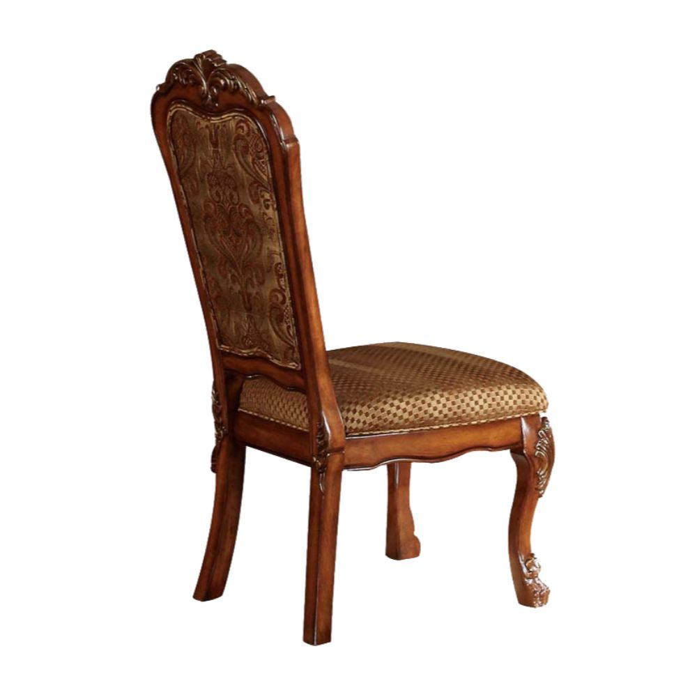 Acme 12153 Set of 2 Astoria grand kyree dresden cherry oak finish wood dining side chairs