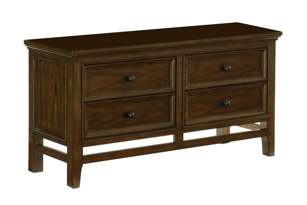 Homelegance 1649-55 Darby home co frazier brown cherry finish wood side server buffet console