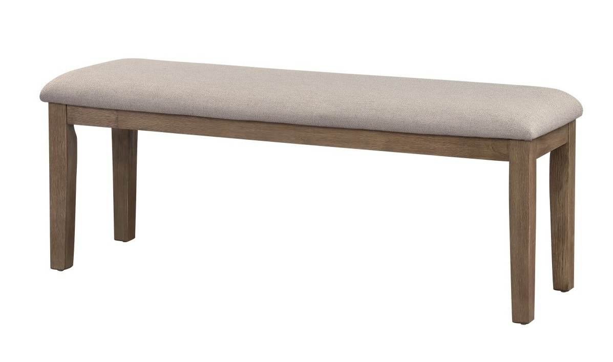 Homelegance 5706-13 Darby home co armhurst wirebrushed brown finish wood dining bench