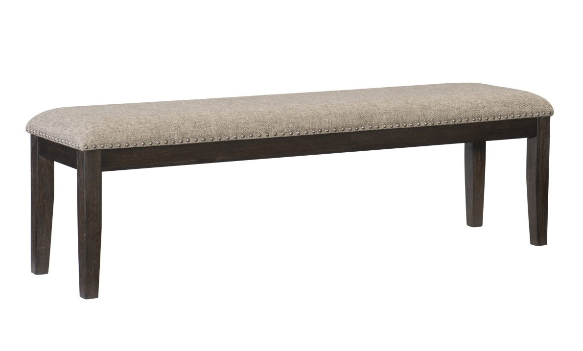 Homelegance 5741-13 Darby home co southlake wire brushed rustic brown finish wood dining bench