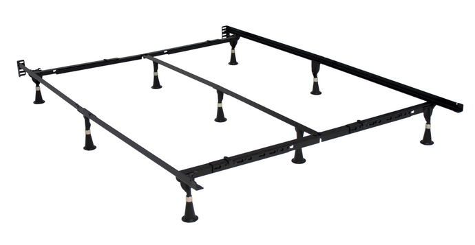 All sizes in one e3 premium bed frame twin, twin xl, full, queen, cal king, eastern king with headboard attachment