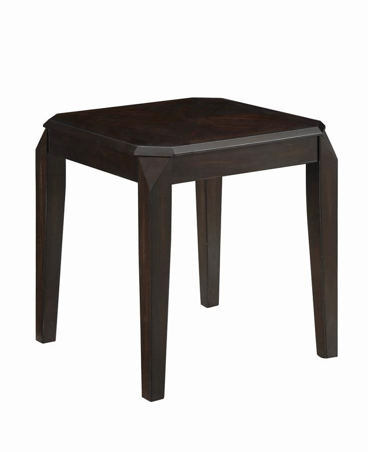 721047 Wildon red barrel studio divisadero walnut finish wood end table