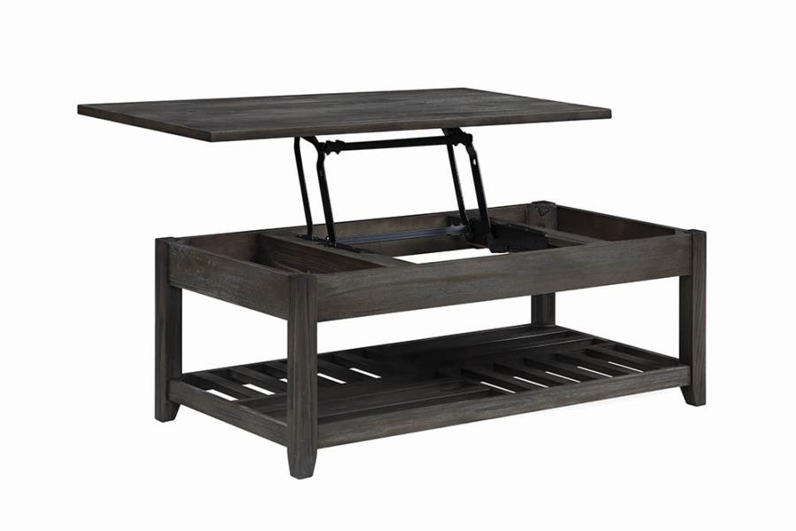 722288 Wildon darby home co grey finish wood lift top coffee table