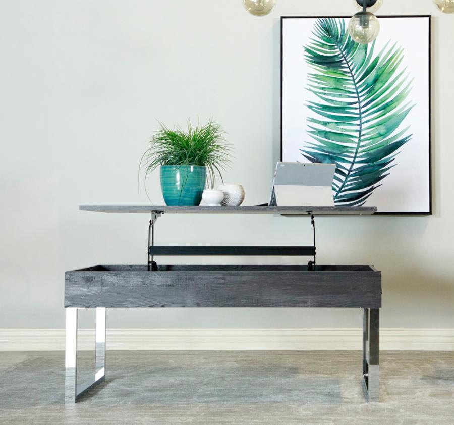 723458 Wildon home red barrel studio dark charcoal finish wood lift top coffee table