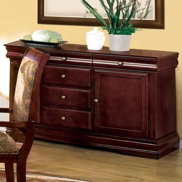 CM3224-SV Charlton home pitre st nicholas i cherry finish wood dining sideboard server console table