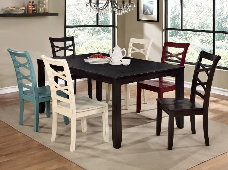 CM3528T-7PC 7 pc Red barrel studio gaener maegan giselle espresso finish wood dining table set