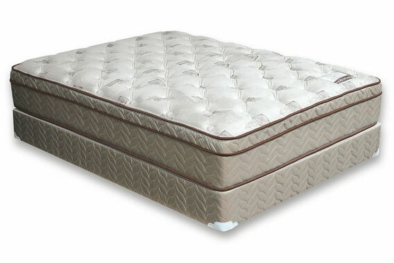 Dreamax lilium 13 inch euro pillow top form encased queen size mattress plush comfort