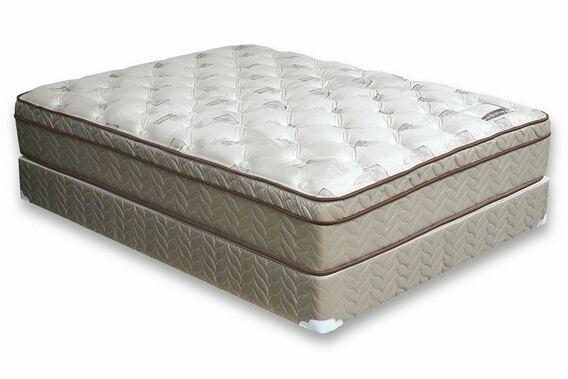 Dreamax lilium 13 inch euro pillow top form encased queen size mattress plush comfort