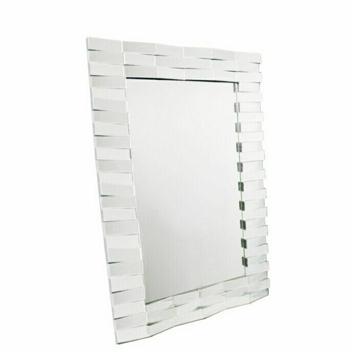 Elegant Modern Glass Mirror Design - Benzara