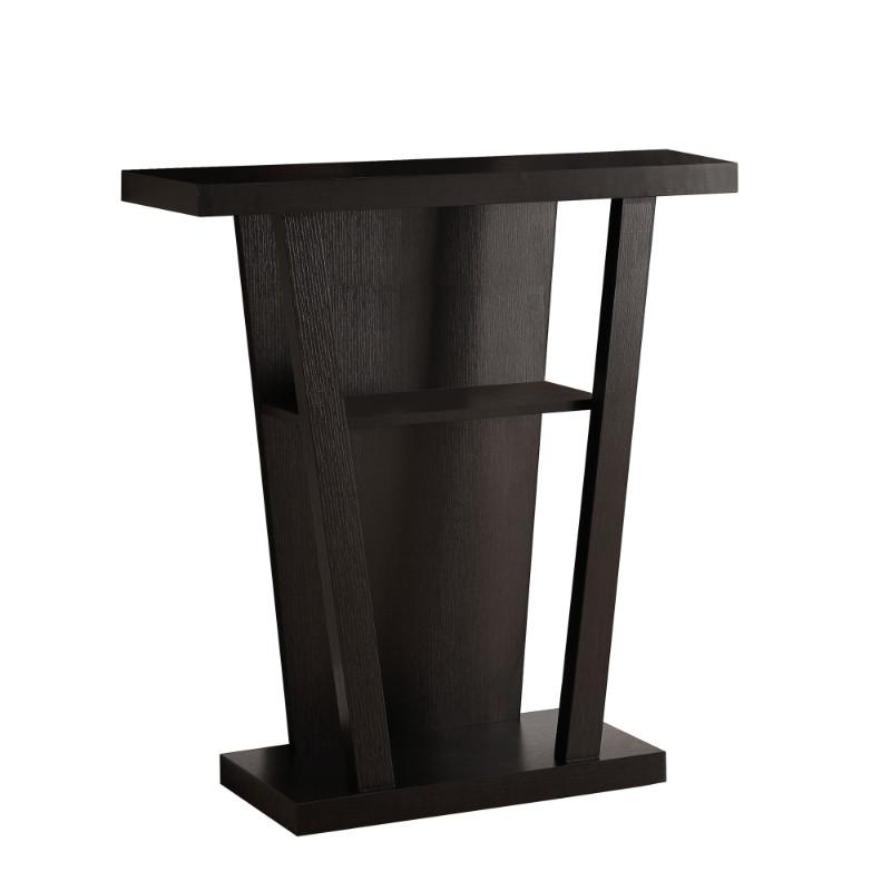 "Accent Table - 32""L / Cappuccino Hall Console"