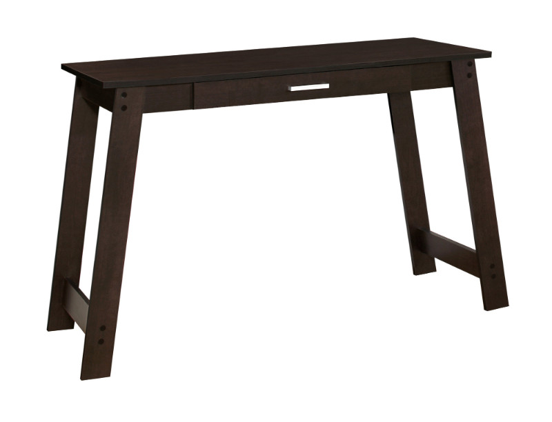 """Computer Desk - 42""""L / Cappuccino With A Storage Drawer"""