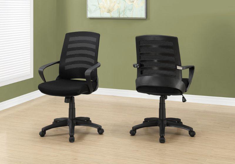 Office Chair - Black / Black Mesh / Multi Position