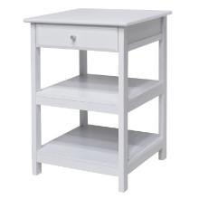 10121 Delta Home Office Printer Stand, White