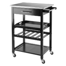 20326 Anthony Kitchen Cart Stainless Steel