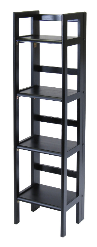 Terry Folding Bookcase Black