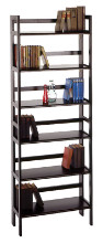 20896 Terry 3-Tier Foldable Shelf, Stackable, Black