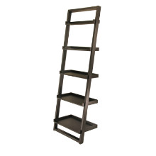 Bailey leaning shelf 5-tier