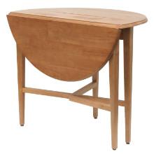 "Hannah round 42"" double drop leaf gate leg table"