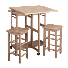 Suzanne 3-pc space save set beech