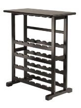 Vinny wine rack espresso