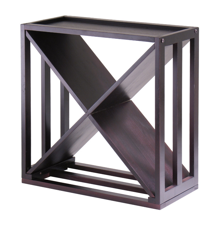"""Kingston Modular """"X"""" Cube holds 24-Bottle, Stackable"""