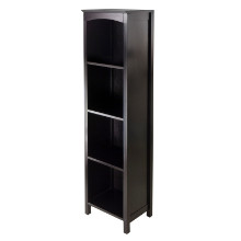 92516 Terrace Storage Shelf 5-Tier in Espresso Finish