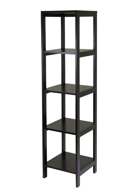 Hailey Tower Shelf, 5-Tier, Modular