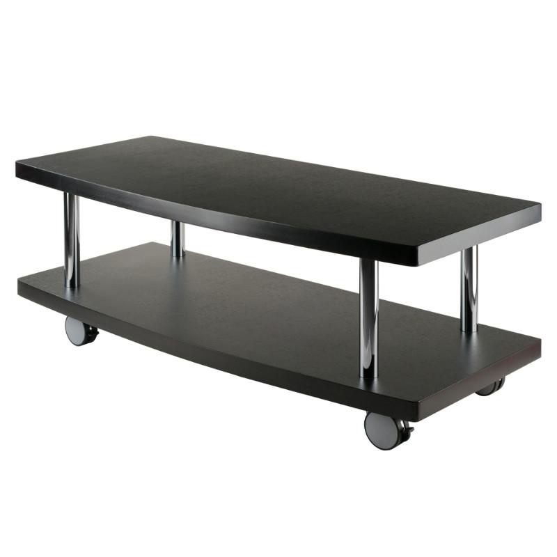Evans TV Stand Curved Shelf