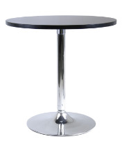 """Spectrum 29"""" round dinning table with metal leg"""