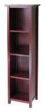 94416 Milan Storage Shelf or Bookcase 5-Tier, Tall