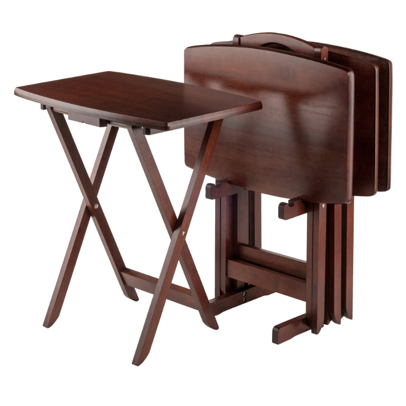 Darryl 5-Pc Oversize Snack Table Set