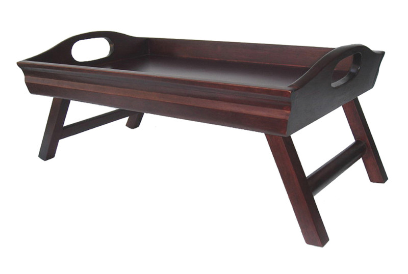 Sedona Bed Tray Curved Side, Foldable Legs, Large Handle