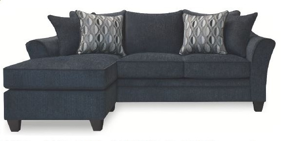 Atlantis-Navy 2 pc Red barrel studio atlantis navy sectional sofa with reversible ottoman chaise