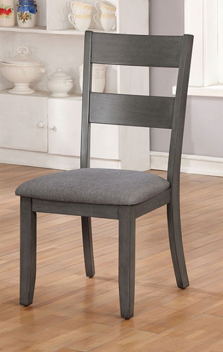 CM3162SC-2PK Set of 2 Longshore tides darryl juniper gray finish wood dining chair